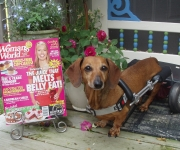 Frankie featured in Woman's World Magazine July 2010
