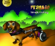 Frankie the Walk 'N Roll Dog Book Cover