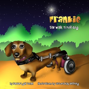 Frankie the walk n roll dog cover