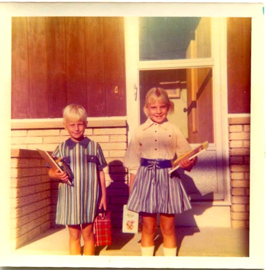 B. & P. ready for school  10th St.