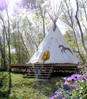 Tipi Gathering with the Spirit of Horse