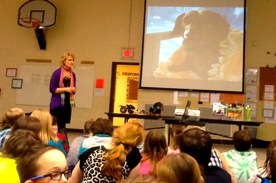Fair Park Elementary School Knows How To Make An Author Visit Sparkle and Shine