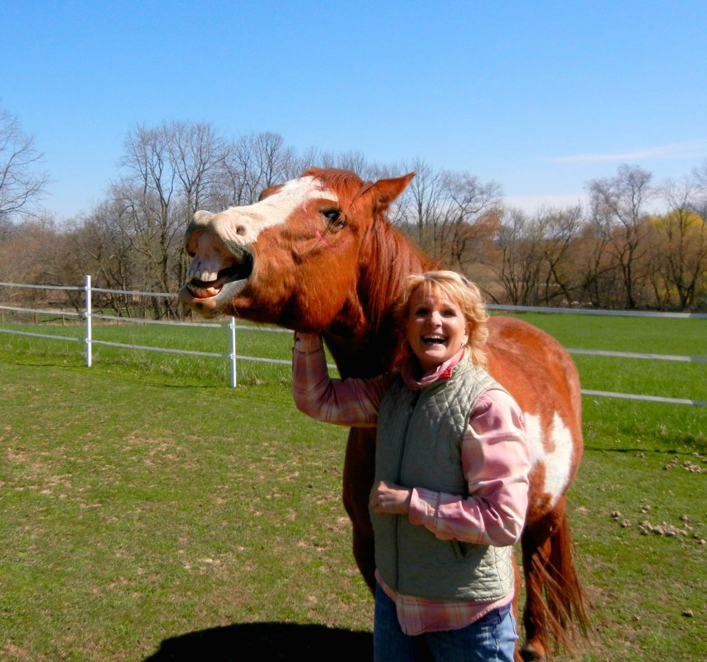 Dancing in the Healing Spirit of Horse. My Time with Ollie.