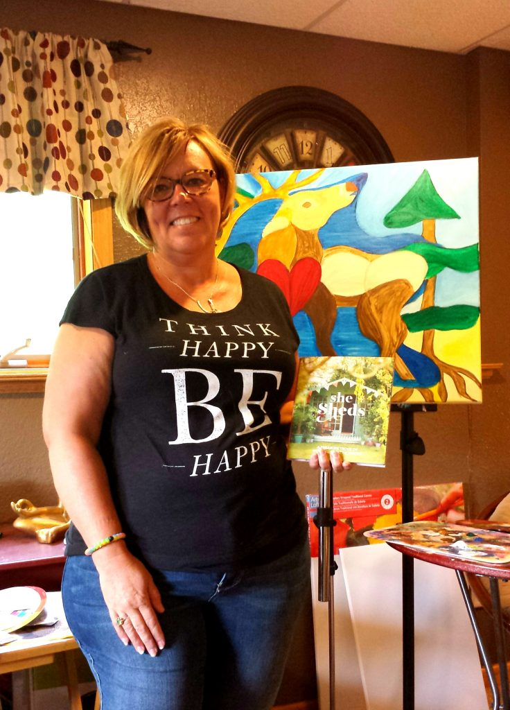 You Can Let the Art in Your Heart Lead the Way. Meet My Friend, Shannon.