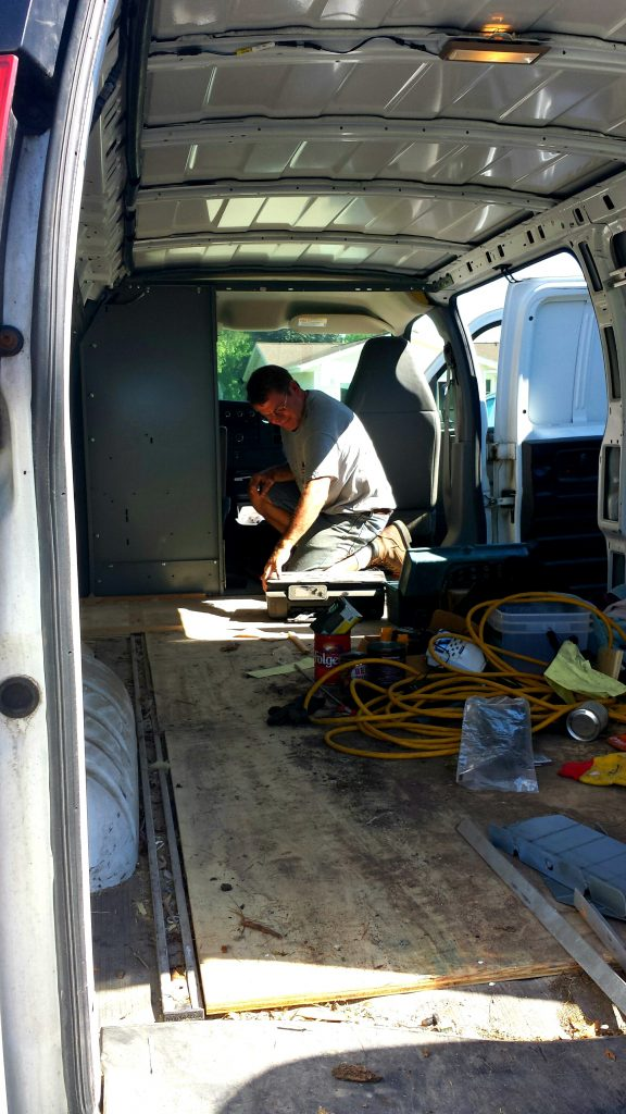 Have Van Will Travel Journal: The Conversion Begins