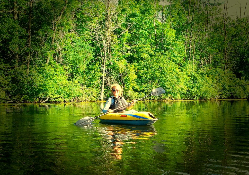 Life Lessons from First Time in a Kayak