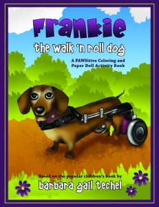 Frankie the Walk 'N Roll Dog Coloring and Paper Doll Activity Book by Barbara Techel
