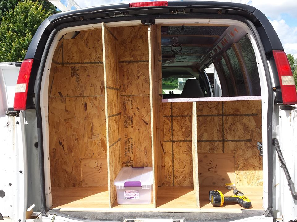 Have Van Will Travel Journal: Slow and Steady Wins the Race - and Makes for a Well-Built Van Camper (Video Progress)